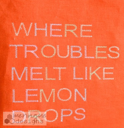 Picture of Where Troubles Melt Like Lemon Drops